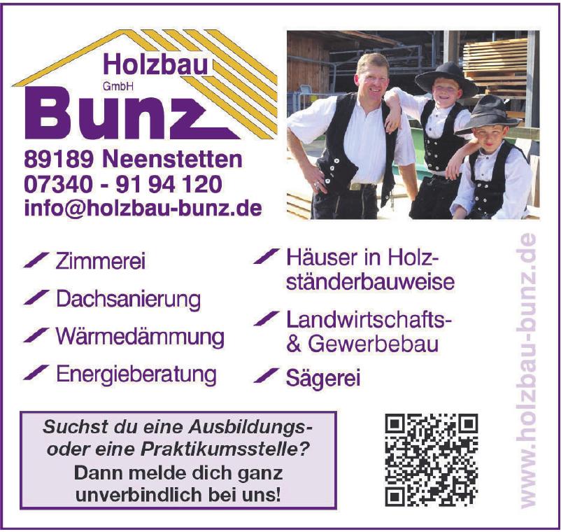 Holzbau Bunz GmbH
