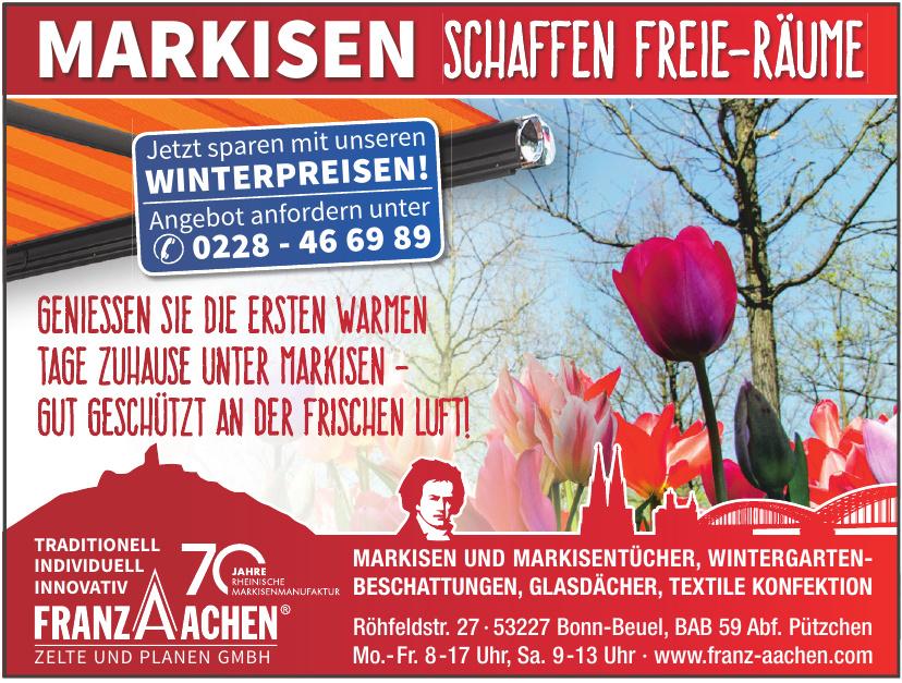 Franz Aachen Zelte und Planen GmbH