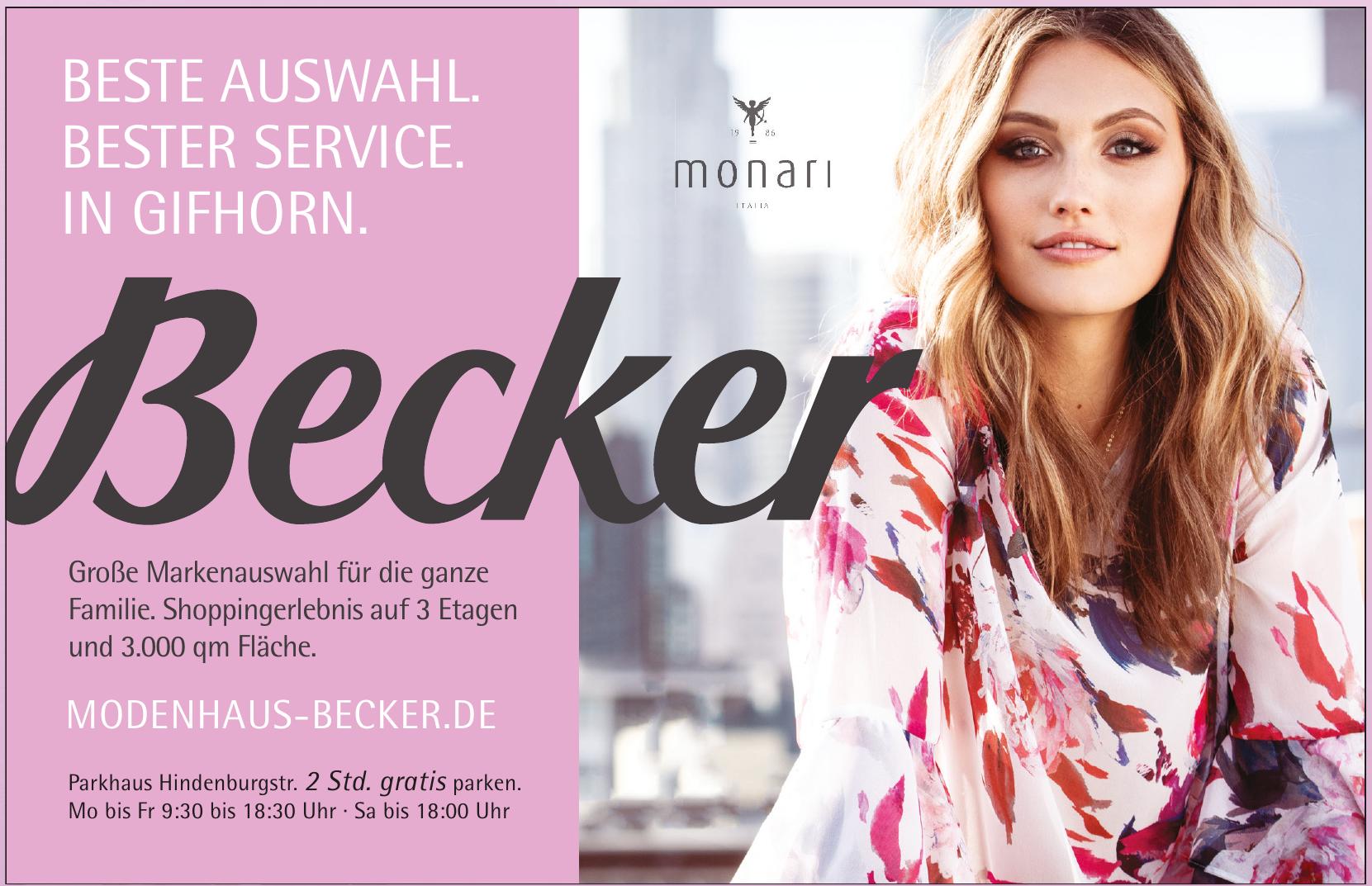Modehaus Becker