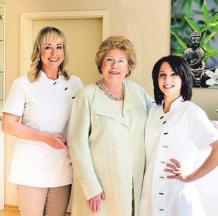 Nicole Langkop und ihr Team bieten ein breites Spektrum an Anti-Aging-Behandlungen.