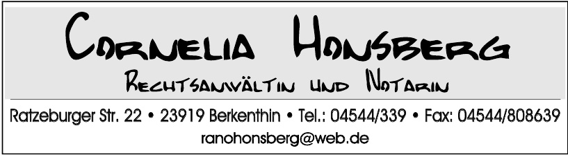 Cornelia Honsberg