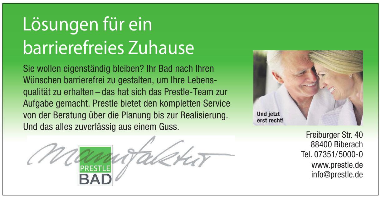Karl Prestle Sanitär Heizung  Flaschnerei GmbH & Co. KG
