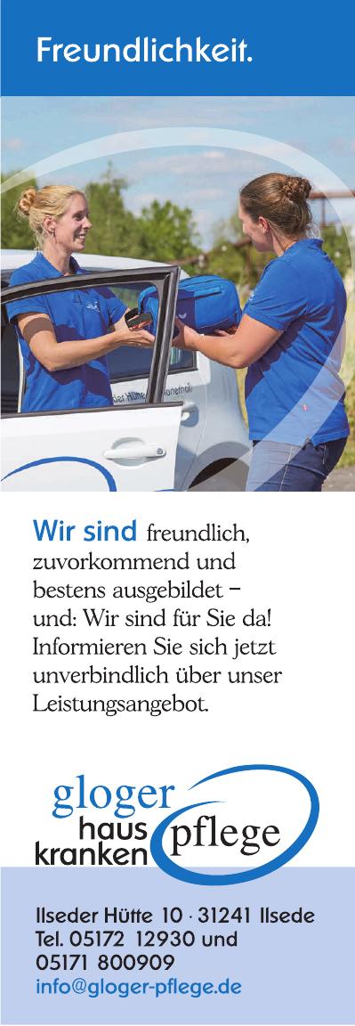Hauskrankenpflege Gloger GmbH