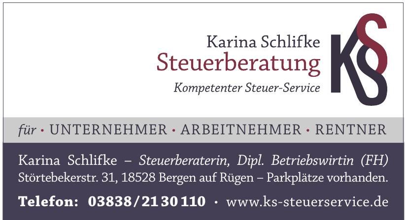 Karina Schlifke Steuerberatung