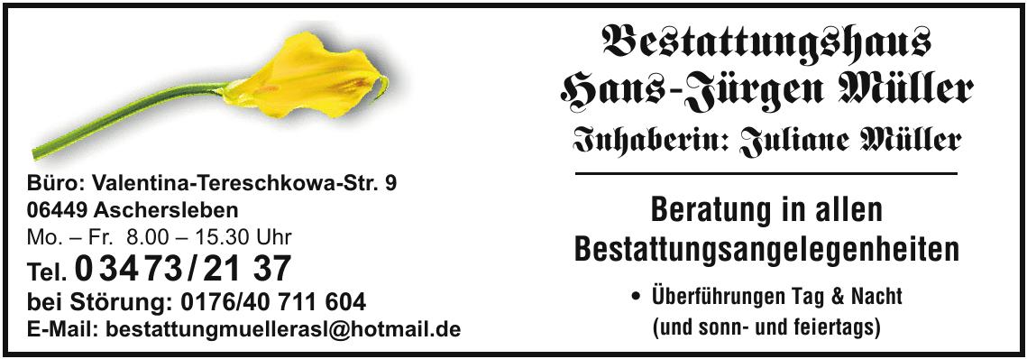 Bestattungshaus Hans-Jürgen Müller