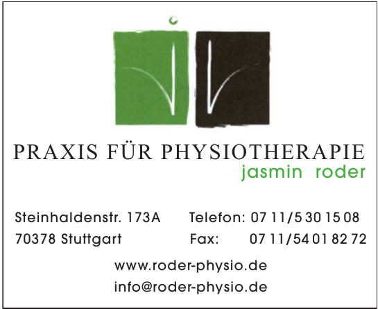 Praxis für Physiotherapie Jasmin Roder