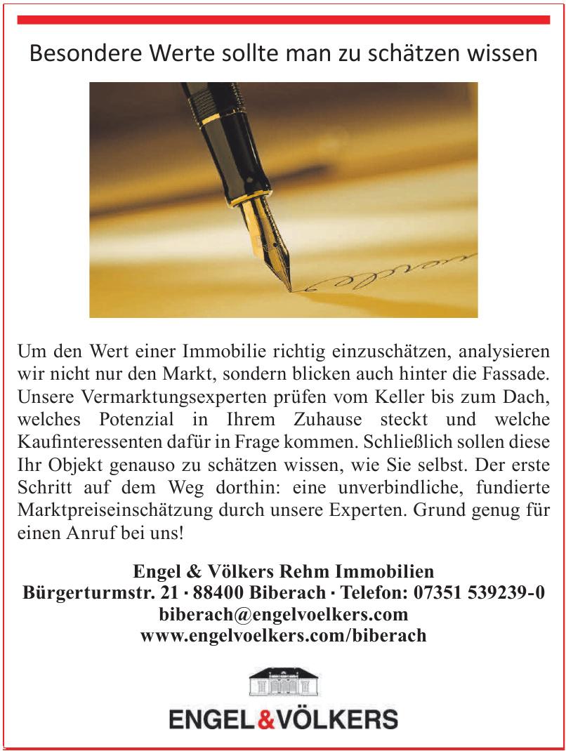 Engel & Völkers Rehm Immobilien