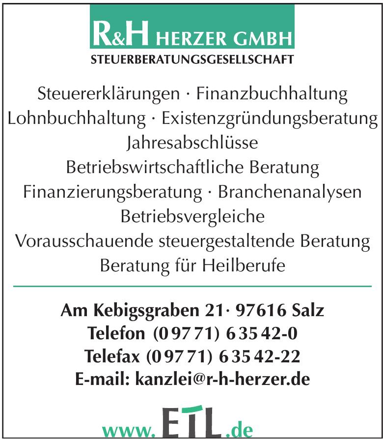 R&H Herzer GmbH Steuerberatungsgesellschaft