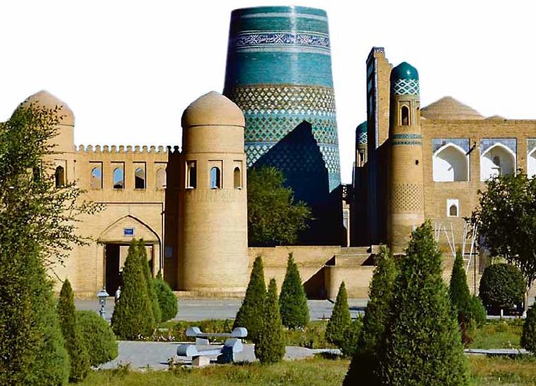 Die Altstadt Chiwas, eine der ältesten Städte der Welt: Foto: Veranstalter