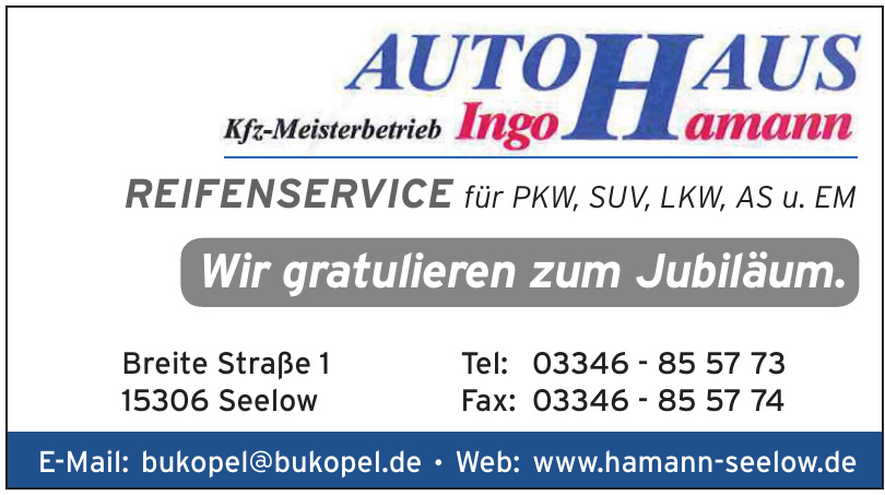 Autohaus Ingo Hamann Seelow