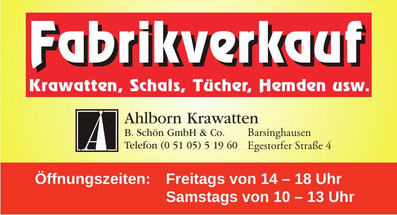 B. Schön GmbH & Co.