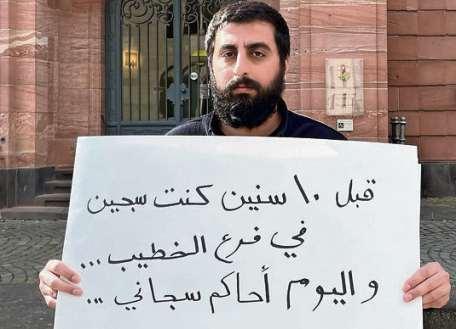 Anklage. Der Journalist Amer Matar wurde von einem Geheimdienstler gefoltert.