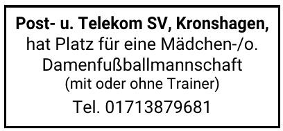Post- u. Telekom SV