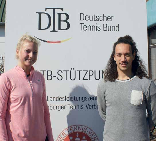 Linnea Pedersen und Florian Teatiu werden versuchen, den Talenten schnelle Beine durch eine vielseitige athletische Ausbildung zu machen. Foto: I. Radel