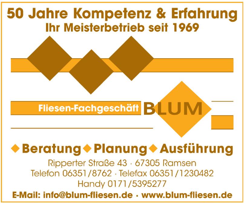 Fliesen-Fachgeschäft Blum