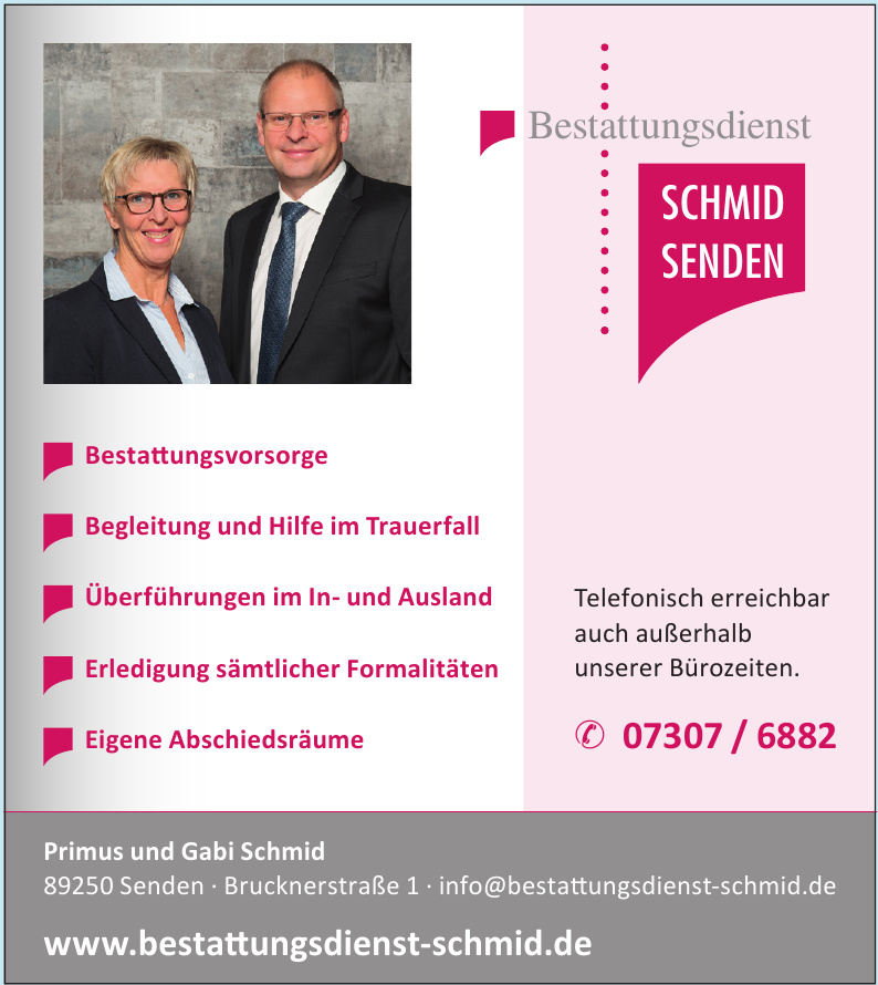 Primus und Gabi Schmid