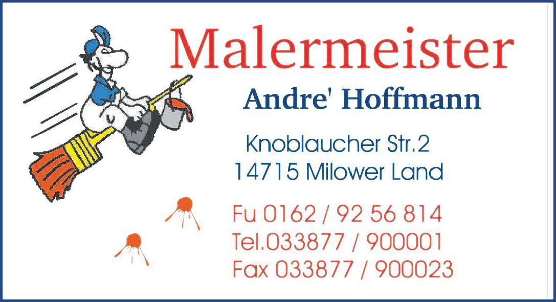 Malermeister Andre' Hoffmann