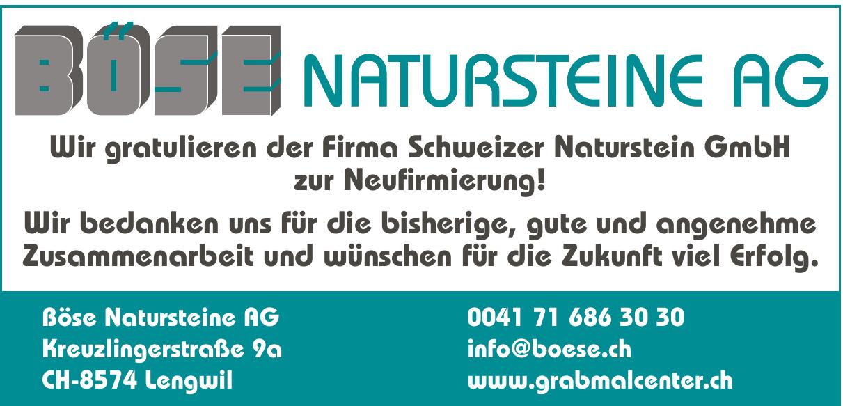 Böse Natursteine AG