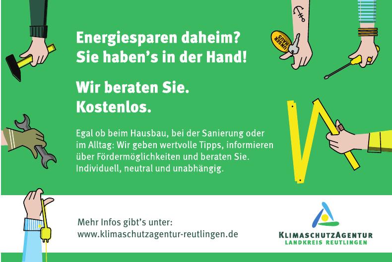 Klimaschutzagentur Landkreis Reutlingen