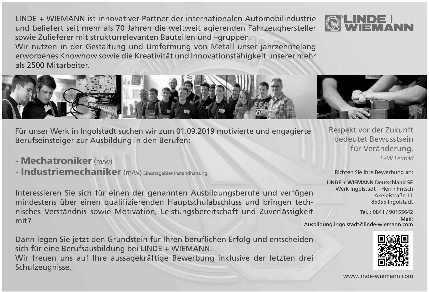 Linde + Wiemann Deutschland SE - Werk Ingolstadt