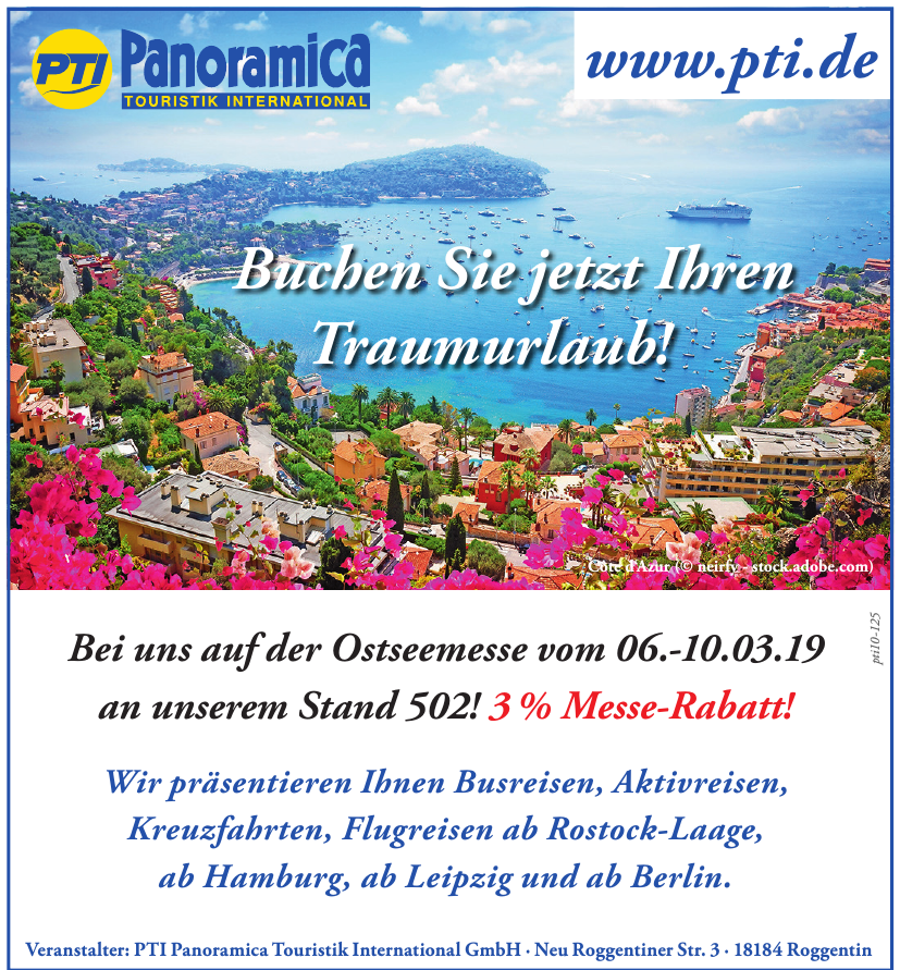 PTI Panoramica Touristik International GmbH