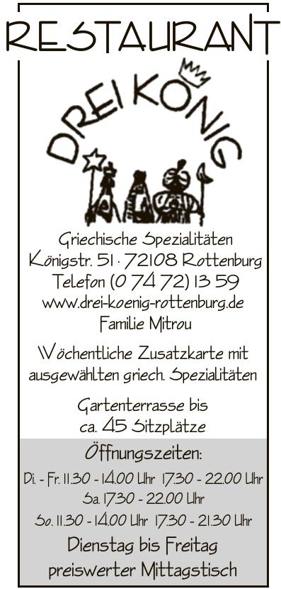 Restaurant Drei König