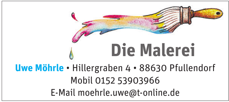 Die Malerei Uwe Möhrle