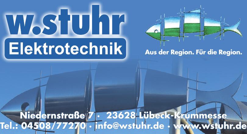 W. Stuhr Elektrotechnik
