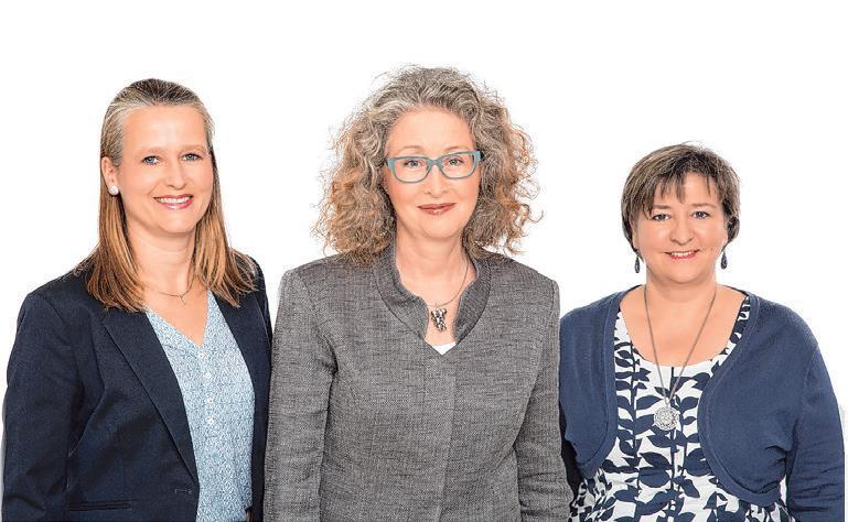 Ulrike Högerle, Beate Wierhake, Yvonne Müller – Beratung und Vermietung Rosenhof Ahrensburg