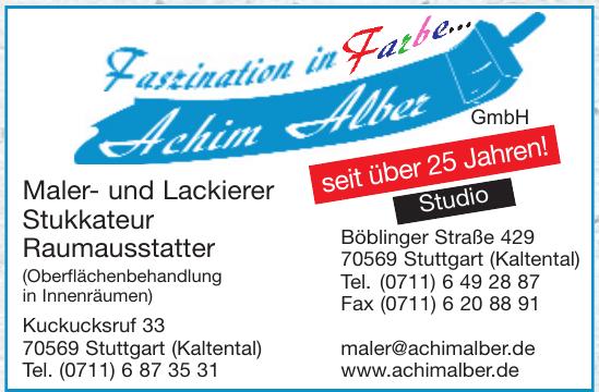 Achim Alber - Maler- und Stukkateurbetrieb
