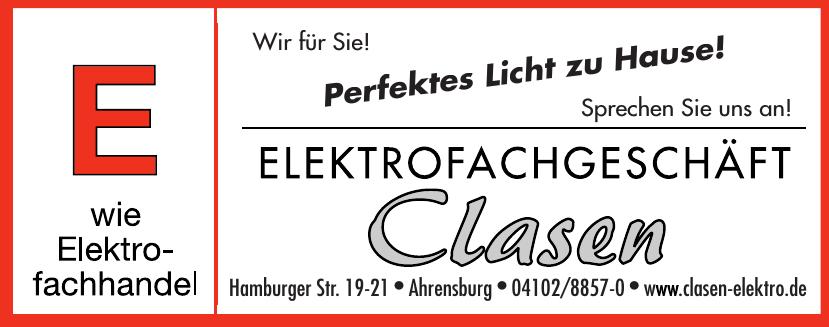Clasen Elektrofachgeschäft