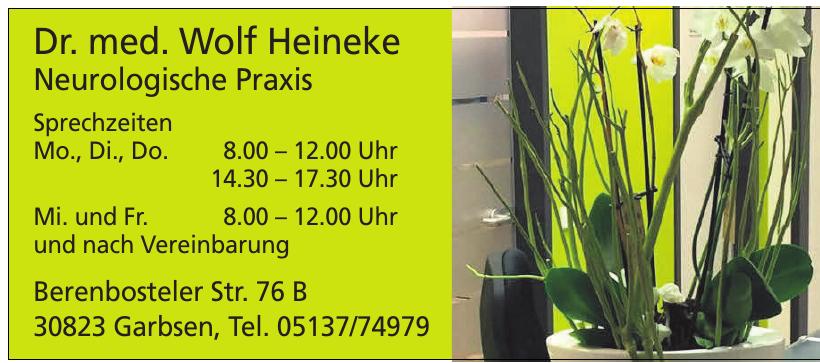 Dr. med Wolf Heineke Neurologische Praxis