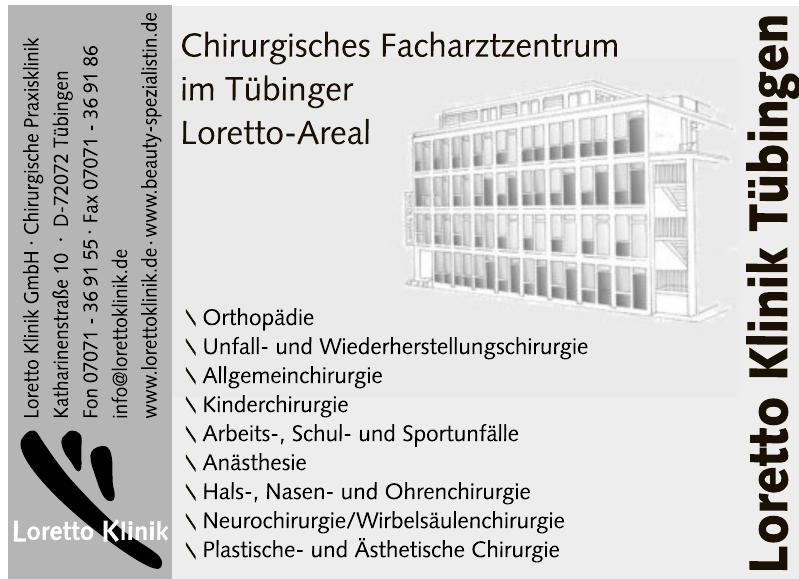 Loretto Klinik GmbH - Chirurgische Praxisklinik