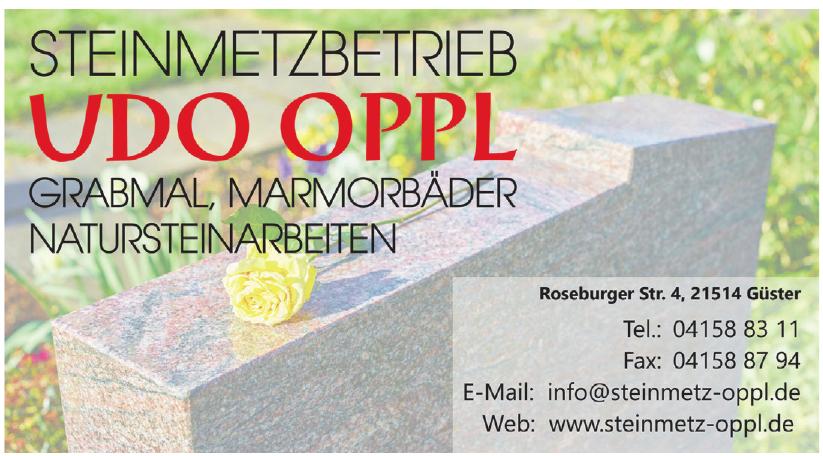 Steinmetzbetrieb Udo Oppl
