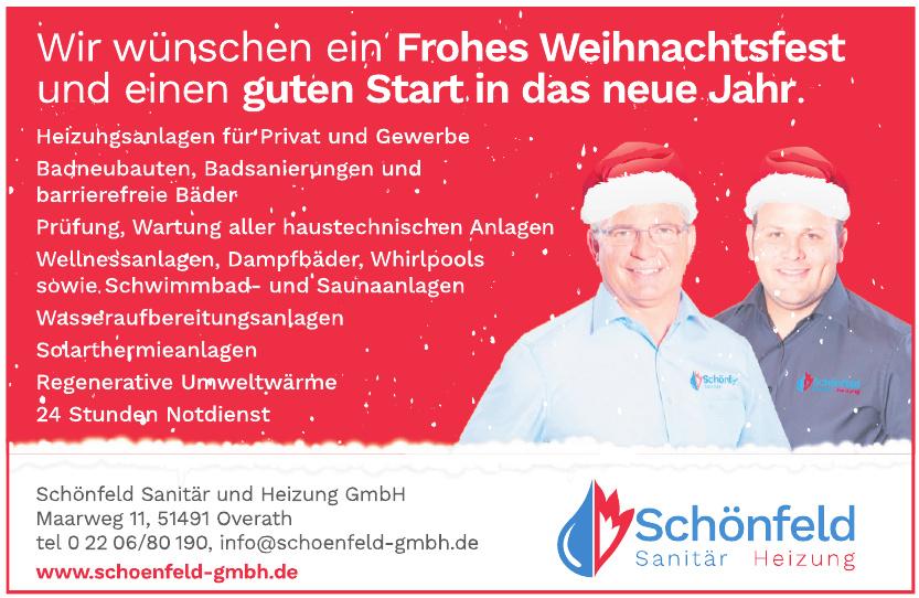 Schönfeld Sanitär und Heizung GmbH