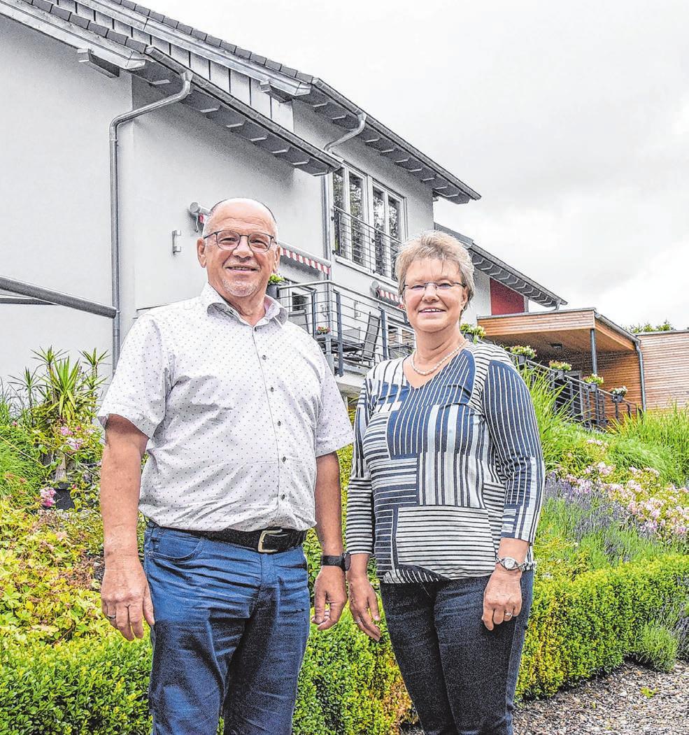 Helmtraut Schönwitz und Peter Dietz stehen für eine gute Versorgung ihrer Gäste und Kunden. Fotos: privat