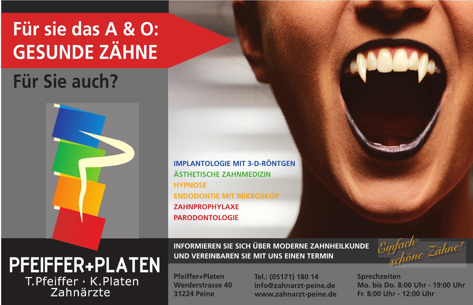 Pfeffer + Platen Zahnärzte