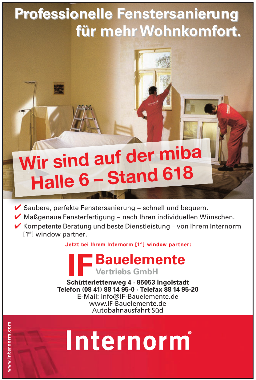 IF Bauelemente Vertriebs GmbH