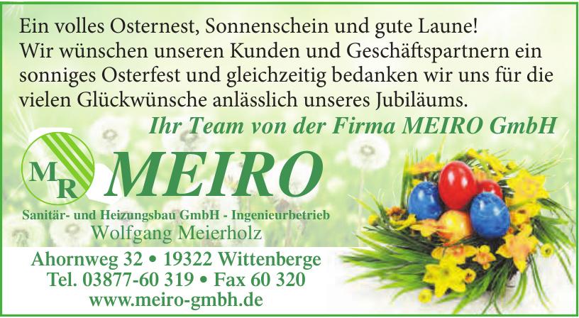 Sanitär- und Heizungsbau GmbH - Ingenieurbetrieb Wolfgang Meierholz