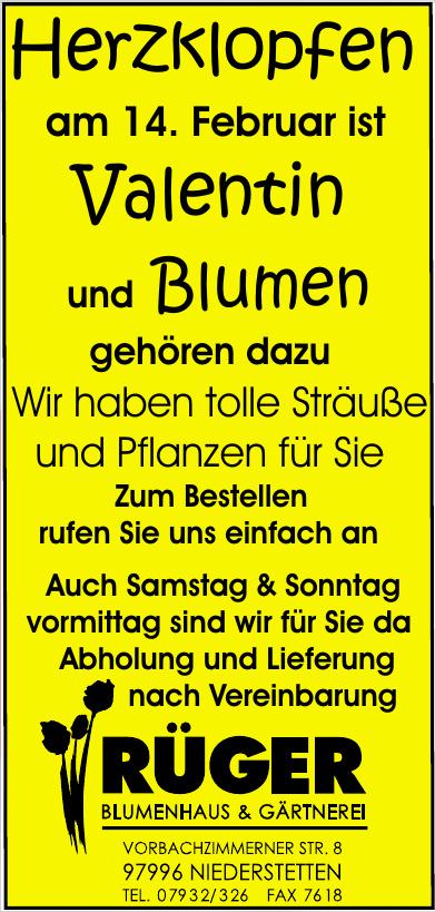 Blumenhaus & Gärtnerei Rüger