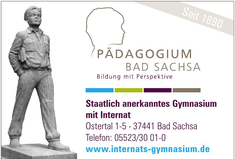 Pädagogium Bad Sachsa