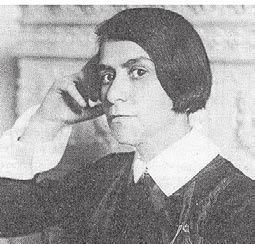 Die Dichterin Else Lasker-Schüler