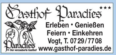 Gasthof Paradies