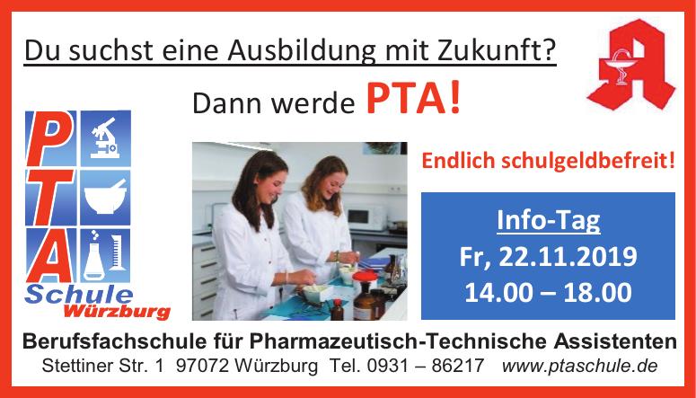 PTA Berufsfachschule für Pharmazeutisch-Technische Assistenten