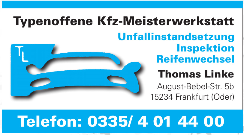 Kfz-Meisterwerkstatt - Thomas Linke