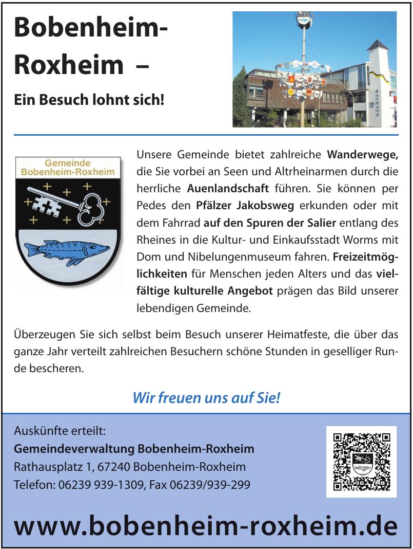 Gemeindeverwaltung Bobenheim-Roxheim