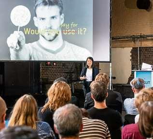 Inspiration aus erster Hand: Keynote-Speaker berichten auf der deGUT von ihren Erfahrungen als Unternehmer. FOTO: SVEA PIETSCHMANN