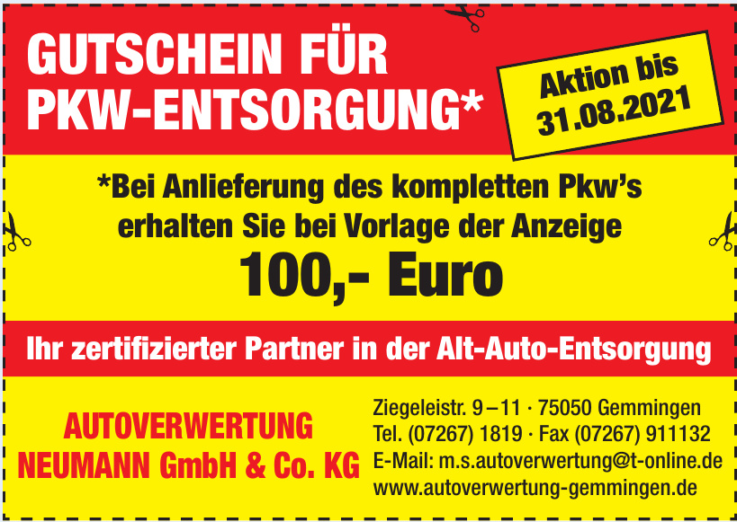 Autoverwertung Neumann GmbH & Co. KG