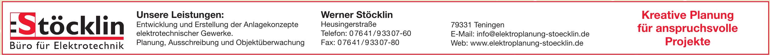Stöcklin Büro für Elektrotechnik