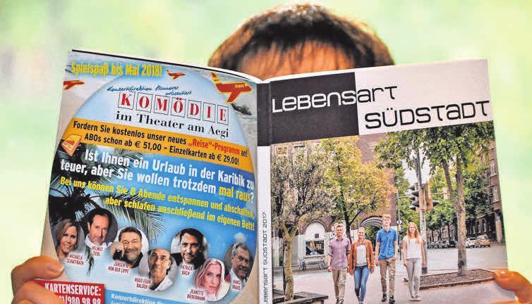 """Auch in diesem Jahr wird es wieder das beliebte Magazin """"Lebensart Südstadt"""" geben."""